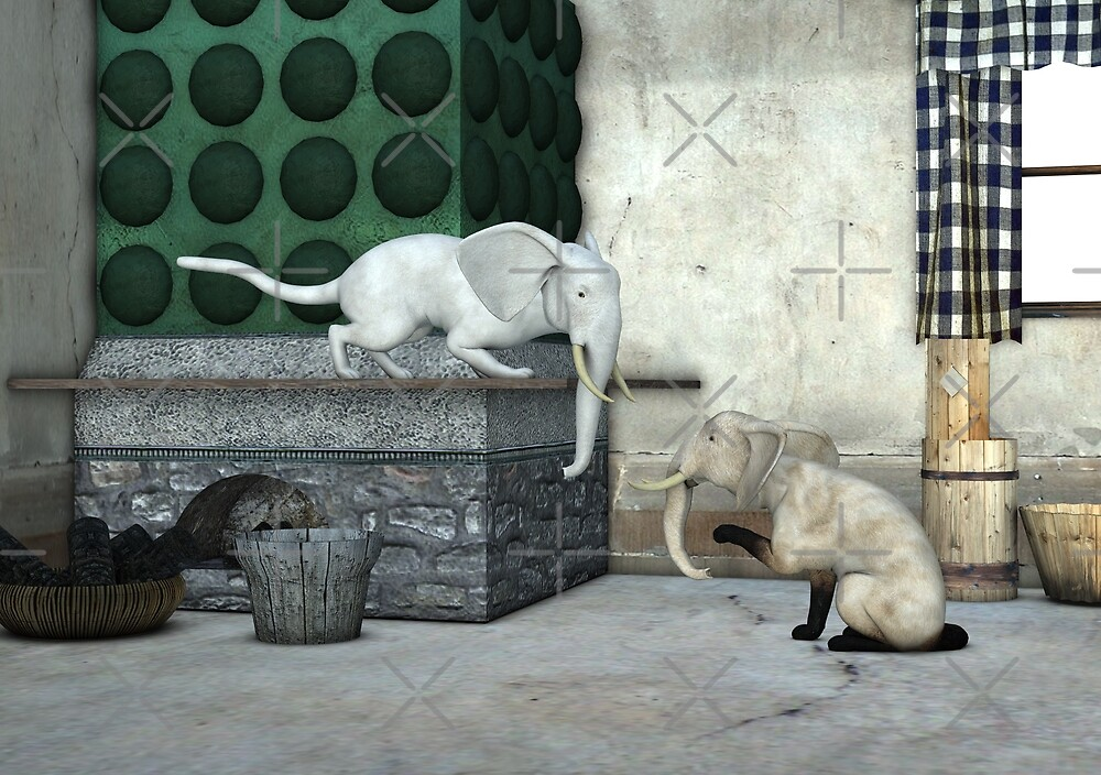 Lovely Catophants by Mythos57