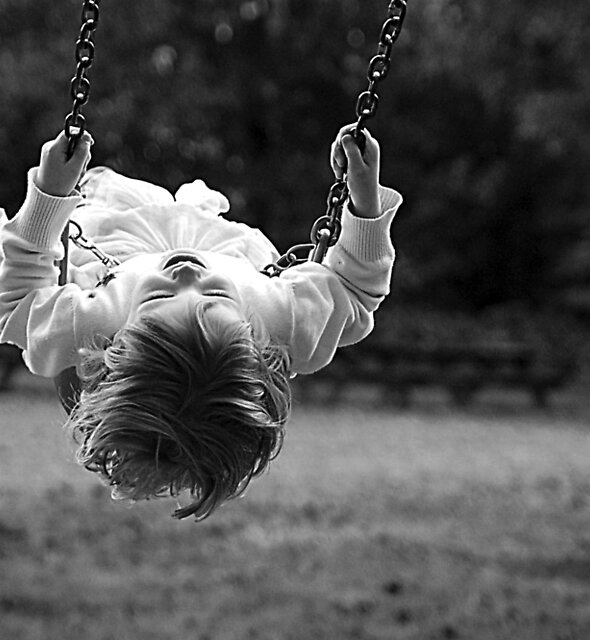 Swingin Through Childhood by justmartha
