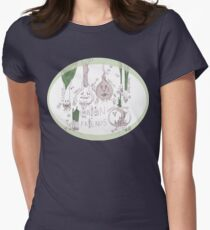Onions and Friends  Women's Fitted T-Shirt