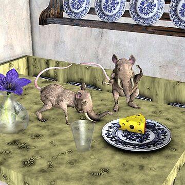 Happy Mouphants by Mythos57