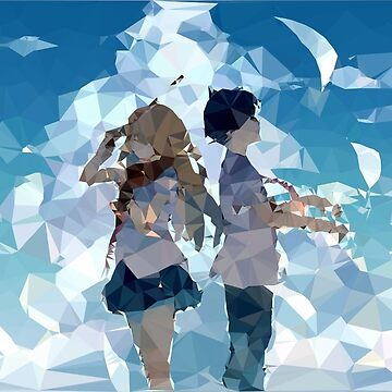 ► Low Poly Anime ◄ Shigatsu wa Kimi no Uso ► Kaori &  Kousei (1) by YTerZ