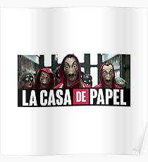 La Casa de Papel - Money Heist Poster