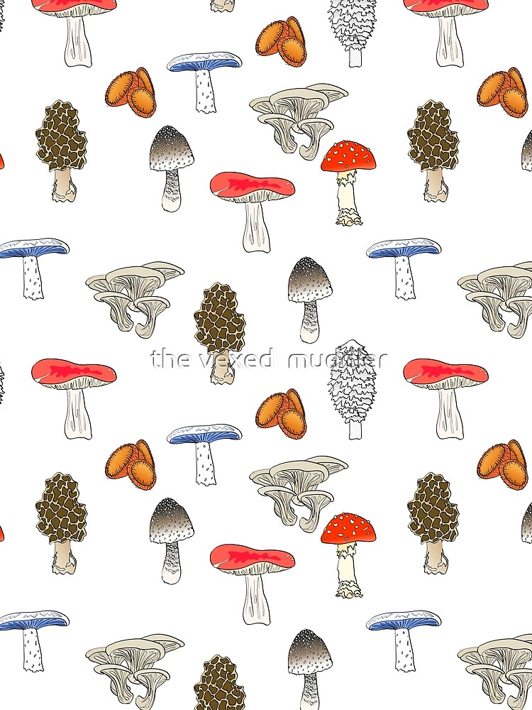 Mushroom Mania by thevexedmuddler