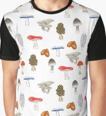 Mushroom Mania Graphic T-Shirt