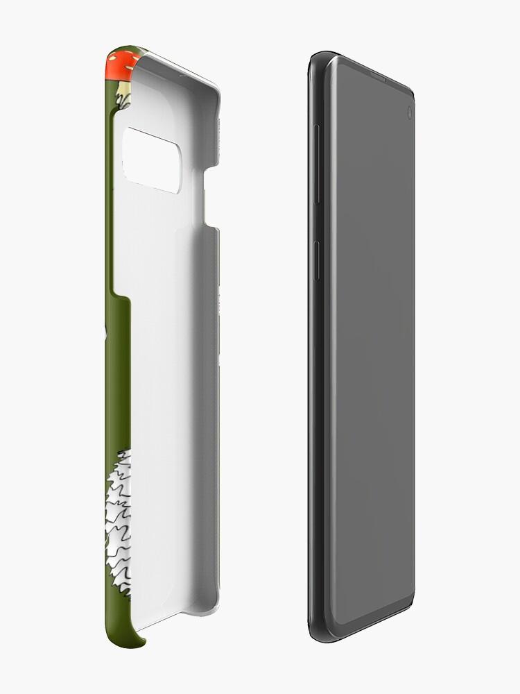Alternate view of Mushroom Mania Case & Skin for Samsung Galaxy