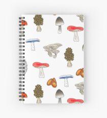 Mushroom Mania Spiral Notebook