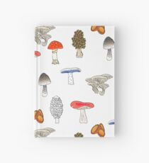 Mushroom Mania Hardcover Journal