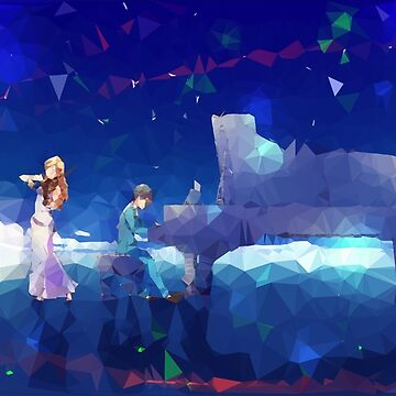 ► Low Poly Anime ◄ Shigatsu wa Kimi no Uso ► Kaori & Kousei (2) by YTerZ