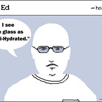 """Op"" Ed Comic strip - Half Full by cousinbessie"