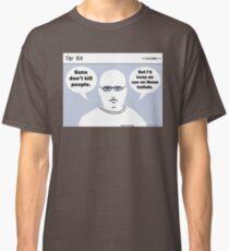 """Op"" Ed Comic strip - Guns Classic T-Shirt"