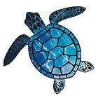 «tortuga marina» de stickersnstuff