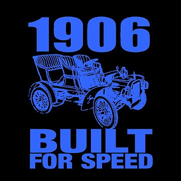 1906 BUILT FOR SPEED 2 BLUE by IMPACTEES