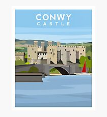 Conwy Castle - North Wales Photographic Print