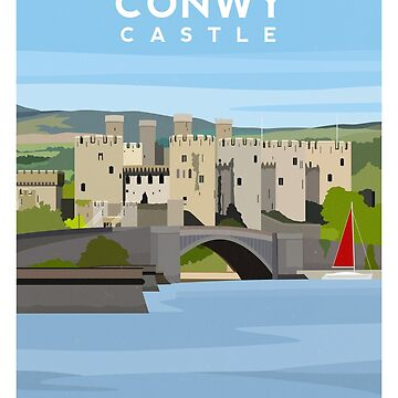 Conwy Castle - North Wales by typelab