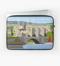 Conwy Castle - North Wales Laptop Sleeve