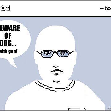 """Op"" Ed Comic strip - Beware of Dog by cousinbessie"