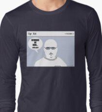 """Op"" Ed Comic strip - Beware of Dog Long Sleeve T-Shirt"