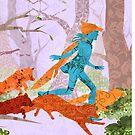 Foxes by KatArtDesigns