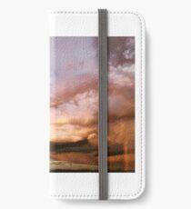 Bremerton Sunset, Tiny Rainbow, Mt. Rainier iPhone Wallet/Case/Skin