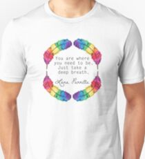 Lana Parrilla Quote (Black text) T-Shirt