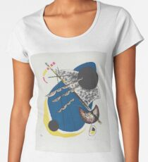 Vasily Kandinsky Inspired Fine Art Gifts w/ Artist's Signature | Small WorldsII  Women's Premium T-Shirt