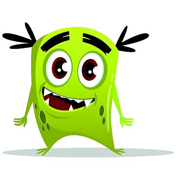 Cartoon cute monster set. Funny fantastic creatures with angry happy surprised emotions 002 by tato69