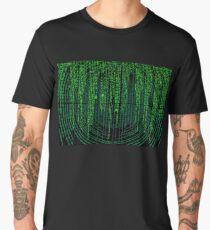 Matrix code Men's Premium T-Shirt