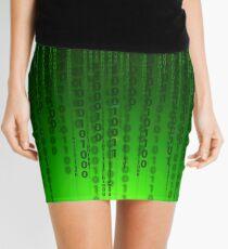 Matrix code Mini Skirt