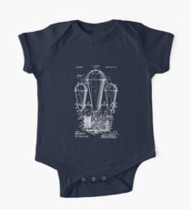 Airship Patent Invention Drawing 1911 One Piece - Short Sleeve