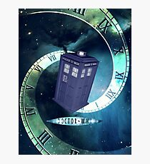 Dr. Who/TARDIS collage Photographic Print