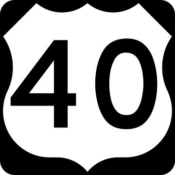 US Highway Route 40 by Joeybab3
