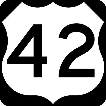 US Highway Route 42 by Joeybab3