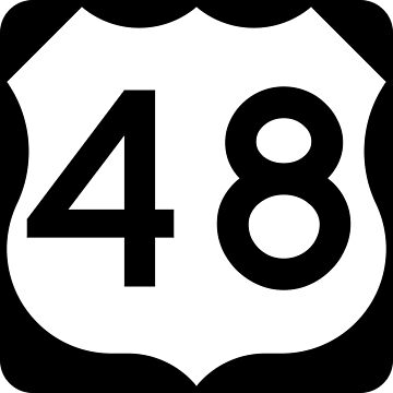 US Highway Route 48 by Joeybab3