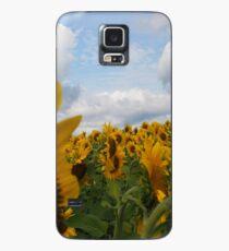 Sunflower Garden Case/Skin for Samsung Galaxy