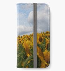 Sunflower Garden iPhone Wallet/Case/Skin