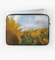 Sunflower Garden Laptop Sleeve
