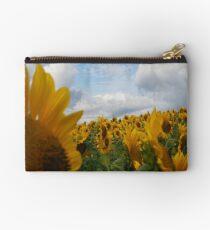 Sunflower Garden Studio Pouch