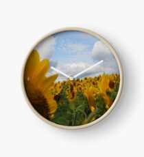 Sunflower Garden Clock