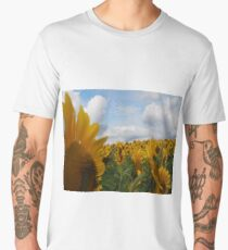 Sunflower Garden Men's Premium T-Shirt