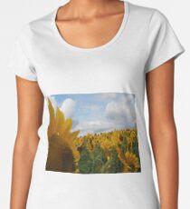 Sunflower Garden Women's Premium T-Shirt