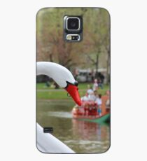 Boston Public Garden Swan Boats Case/Skin for Samsung Galaxy