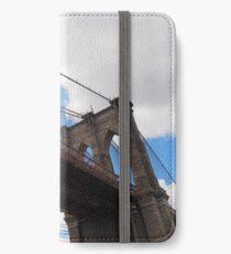 Brooklyn Bridge from DUMBO iPhone Wallet/Case/Skin