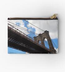 Brooklyn Bridge from DUMBO Studio Pouch