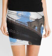 Brooklyn Bridge from DUMBO Mini Skirt