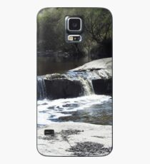 Waterfall on the moon Case/Skin for Samsung Galaxy