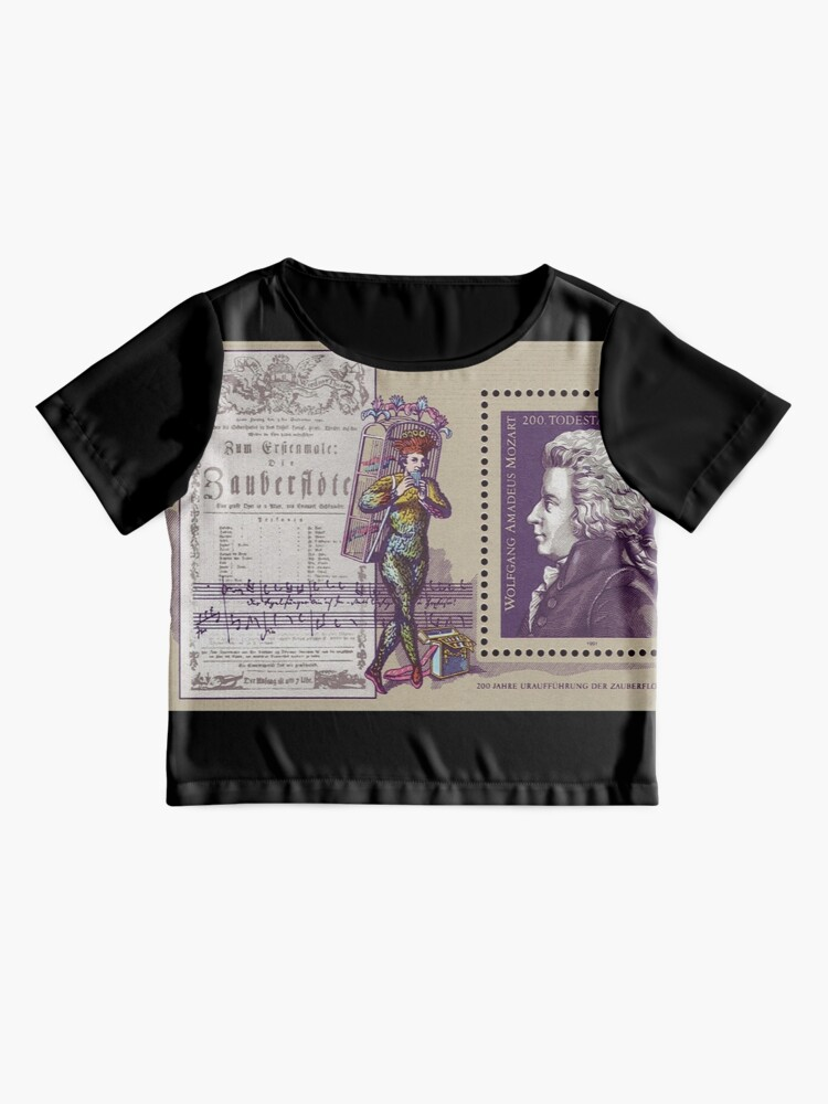 Alternate view of Mozart,The Magic Flute Chiffon Top