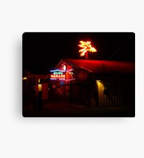 City Garage, Salado Canvas Print