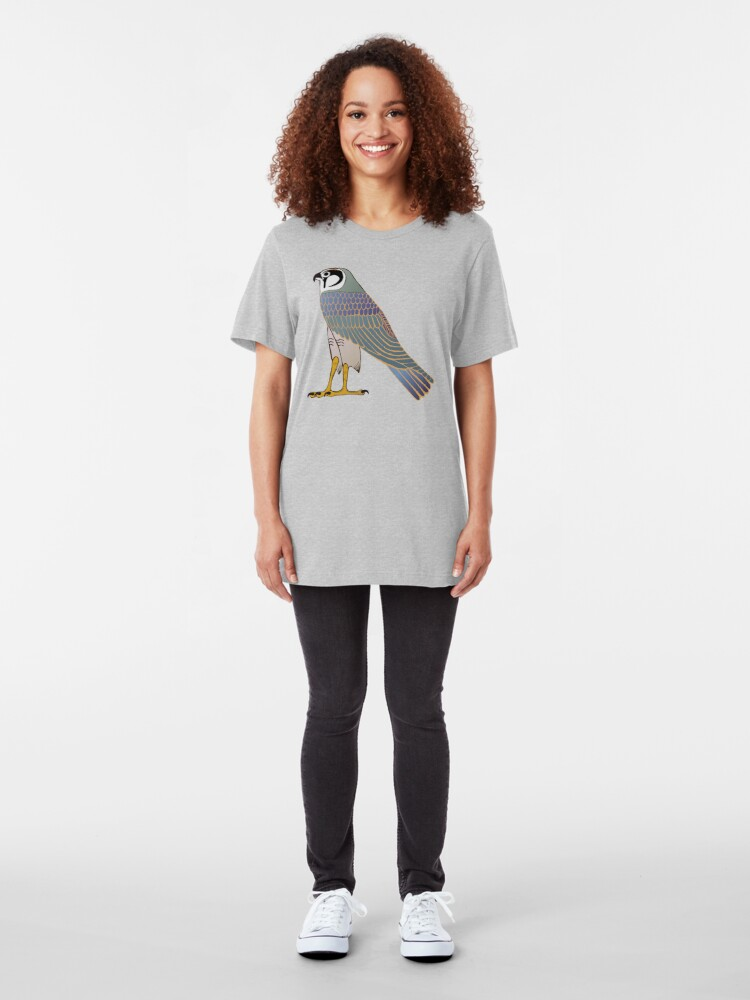 Alternate view of Horus in faience Slim Fit T-Shirt