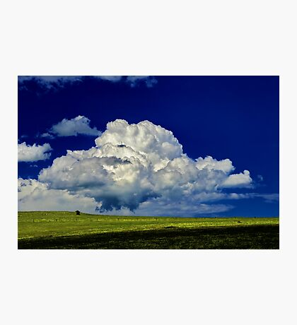 """The Little White Cloud That Cried"" Photographic Print"