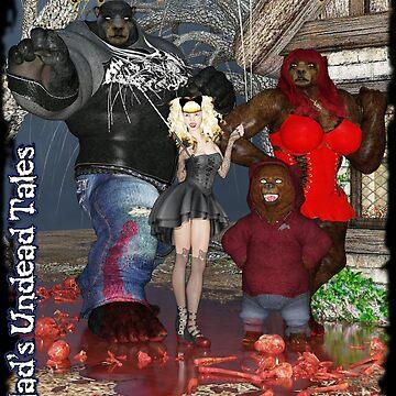 Undead Tales: Goldilocks Crew - Blood Porridge by EnforcerDesigns